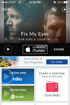 """Fix my Eyes"" For King and Country"