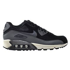 86988583c630 Nike Air Max 90 Lthr Womens Running Shoes BlackMetallic HematiteDark  GreySilver 768887001 8 DM US     Find out more about the great product at  the image ...
