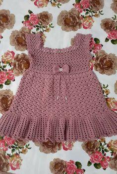 Free Crochet Doily Patterns, Crochet Designs, Thread Crochet, Crochet Stitches, Baby Frocks Designs, Baby Girl Crochet, Crochet Magazine, African Fashion Dresses, Baby Sweaters
