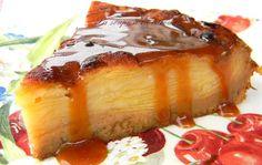 Recette - Gâteau invisible aux pommes et crème caramel au beurre salé   Notée…