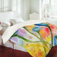 Ginette Fine Art Poppy Pods Duvet Cover