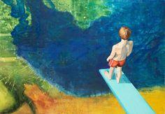 Das Selbstvertrauen der Jugend, 2009, 160 x 110 cm, Acryl auf Leinen