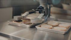 Flippy, le robot qui fait des burgers ! #digital