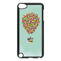 Custom Funny Cute Disney UP HOUSE Mint Green Phone Case for APPLE iPod Touch 5th Generation Best Durable Hard IPOD 5 Case by V&A Enterprises, http://www.amazon.co.uk/dp/B00HYTH7BK/ref=cm_sw_r_pi_dp_-qkatb11GHRZJ