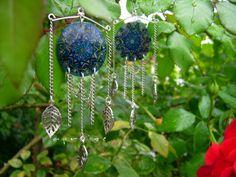 Lucky Mandala earring • Szerencsehozó mandala függő http://aproize.blogspot.hu/2013/09/lucky.html