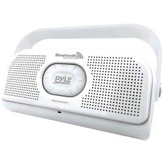 Pyle Surf Sound Waterproof Wireless Bluetooth Stereo Speaker (White)