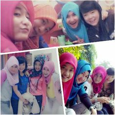 I feel better with my friends lena, leni, dilla :*