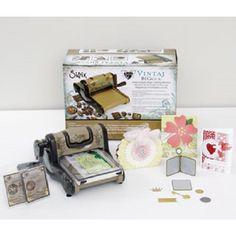 Vintaj BIGkick Die Cutting Machine Jewelry-Making Value Kit + 2 Bonus Dies Sizzix http://www.amazon.com/dp/B00L6FGRA0/ref=cm_sw_r_pi_dp_qlkCvb1CC3D4P