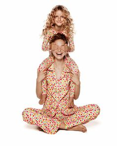 The Ken Downing Gift Collection - Mother & Daughter Gumdrop Pajamas by Bedhead at Neiman Marcus.