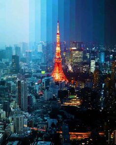 Tokyo Tower, Tokyo 2020, Next Holiday, Japanese Architecture, Future City, Holiday Destinations, City Lights, Empire State Building, Paris Skyline