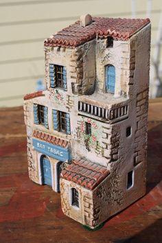 MINIATURES VILLAGE BUILDINGS J CARLTON DOMINIQUE GAULT HOUSES FRENCH PROV.J