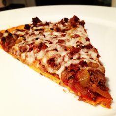 Healthy gluten free piza