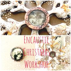 NEW WORKSHOP and HUGE Holiday Sale Encaustic by primology on Etsy