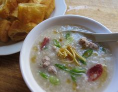Traditional Chinese Recipes: Joak (Rice Porrige or Congee)