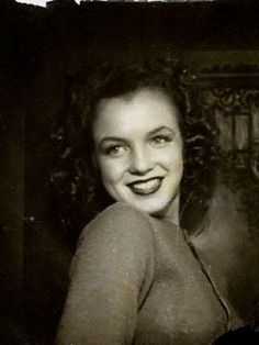 Norma Jeane before she became Marylin Monroe