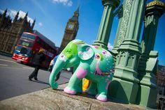 Pink Elephant Deco: Elephant parade