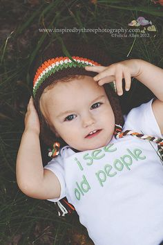 I See Old People - Funny Baby ONESIE or Toddler Tee by ShopTheIttyBitty, $18.00