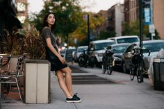 Yesenia Linares (The Locals) Head To Toe, Street Style Women, The Locals, Cool Kids, Mini Skirts, Spring Summer, Style Inspiration, Clothes, Black