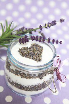 <3  Lavender scrub lawendę