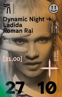 Dynamic Night Ladida Roman Rai / Papírna Plzeň