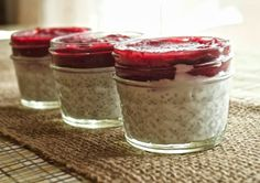 Paleo Cranberry Chia Cups by Plaid and Paleo. #paleo