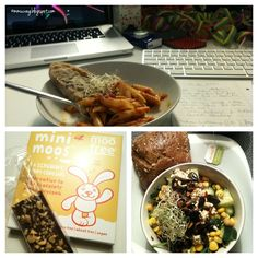 lunch and dinner at vegan wednesday #23