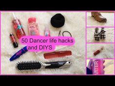 50 dancer life hacks  diys  tips  gymnastic life hacks - YouTube