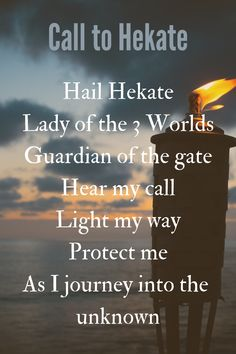 A protection chant to Hekate Witch Spell Book, Witchcraft Spell Books, Magick Spells, Green Witchcraft, Hecate Goddess, Greek Mythology Gods, Wiccan Witch, Wiccan Magic, Grimoire Book