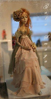 Gala Smaga   Amazingly talented doll maker!