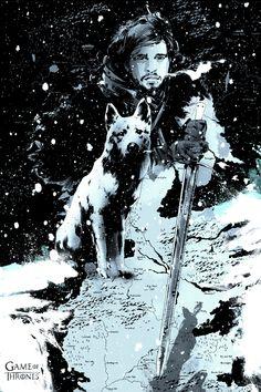 Game of Thrones - Jon Snow by Jock *