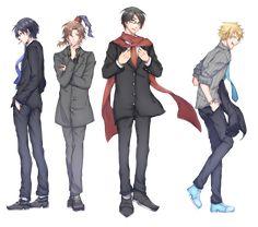 Japanese Men, Five Nights At Freddy's, Cartoon Drawings, Anime Art, Novels, Manga, Fictional Characters, Youtube, Sleeve