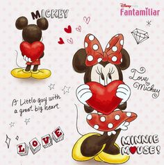 Mickey & Minnie Mickey Mouse Tattoos, Mickey Mouse Images, Mickey Mouse Art, Mickey Mouse Wallpaper, Wallpaper Iphone Disney, Mickey Mouse And Friends, Cute Disney Wallpaper, Mouse Pictures, Disney Pictures