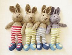 This listing is for an extensive PDF file which contains full instructions for knitting and finishing off a little cotton rabbit girl in a dotty dress. Once paid for it is available for you to instantly download.