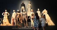 Sidewalk to Catwalk Exhibition Melbourne, Australia 2014-2015. Skin Deep Collection.