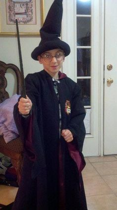 Mitch in Harry Potter costume  made 11_11