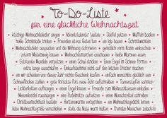 """To-Do-Liste"" für eine glückliche Weihnachtszeit ... Best Christmas Markets, Christmas Books, Halloween Christmas, Christmas Deco, Christmas Projects, Christmas Traditions, All Things Christmas, Christmas Cards, Very Merry Christmas"