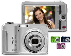 "Kodak 16MP EASYSHARE Digital Camera w/ 5x Optical Zoom, 3"" LCD Screen, 27-135mm Lens & Easy Share Button! $39.99. 78% savings, today only! http://1saleaday.com/"