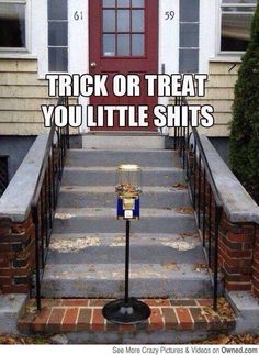 Would you do this?  I would - love it! #halloween