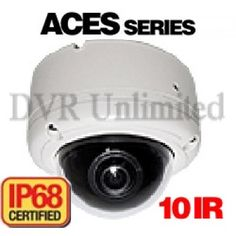IA-6110 ACES 650TVL Small Size INFRARED IP68 Security Camera with Lens