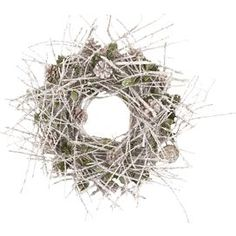 Preserved Twig & Pinecone Wreath