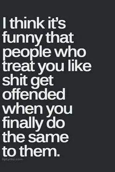 Treating someone