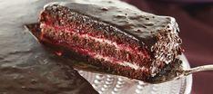 Vadelmasacher | Makeat leivonnaiset | Reseptit – K-Ruoka Steak, Deserts, Goodies, Food And Drink, Fish, Homemade, Baking, Fruit, Recipes