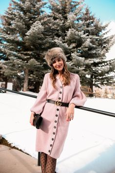 Guide to Aspen (Carrie Bradshaw Lied) Preppy Winter Outfits, Cold Weather Outfits, Fur Fashion, Autumn Fashion, Fashion Outfits, Classic Outfits, Cute Outfits, Carrie Bradshaw Lied, Aspen
