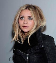 Ashley Olsen Medium Haircut