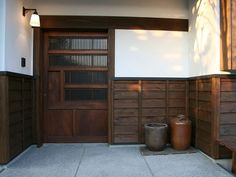Asian Interior Design, Japanese Architecture, Japanese House, Staycation, Old Houses, Tiny House, Facade, Entrance, New Homes