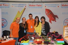 EIT and Roma Makers in the Maker Faire Stand!
