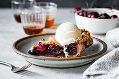 Spiced Bourbon Cherry Pie {gluten-free}