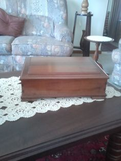 Imbuia jewelry box.