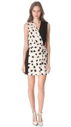 jaime printed dress / dvf