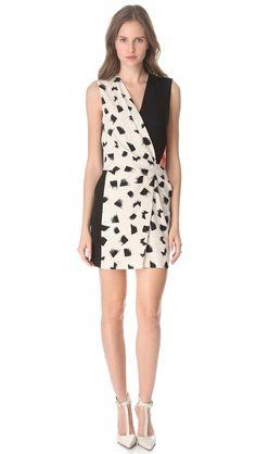 jaime printed dress / dvf